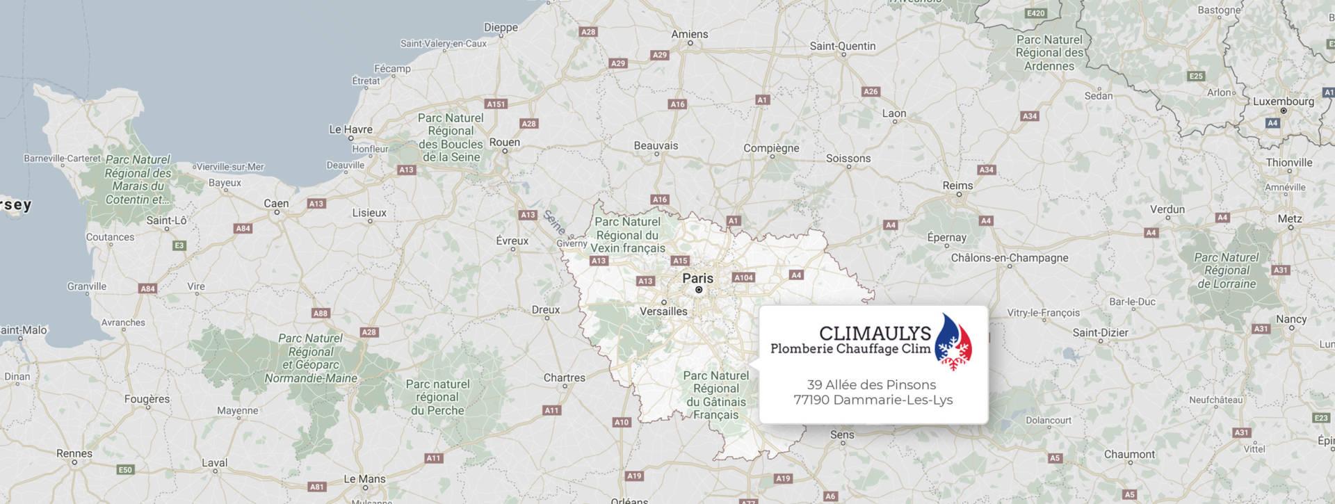 Expert en climatisation et chauffage à Dammarie-les-Lys (77), internbetion sur toute l'ile de France
